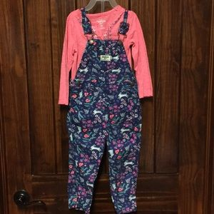 Toffee overalls outfit
